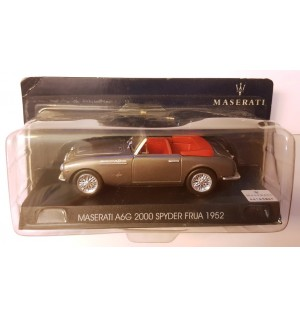 Maserati A6G 2000 Spyder Frua 1952 Scale Model 1:43