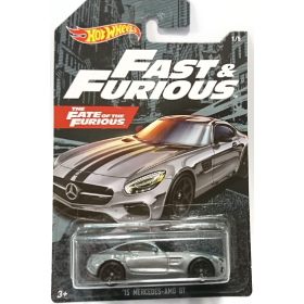 Hot Wheels Fast & Furious No 1 '15 Mercedes Amg Gt