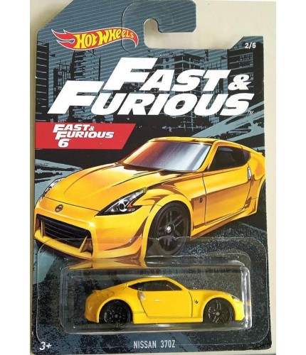 Hot Wheels Fast & Furious No 2 Nissan 370Z