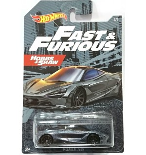 Hot Wheels Fast & Furious No 3 Mclaren 720S