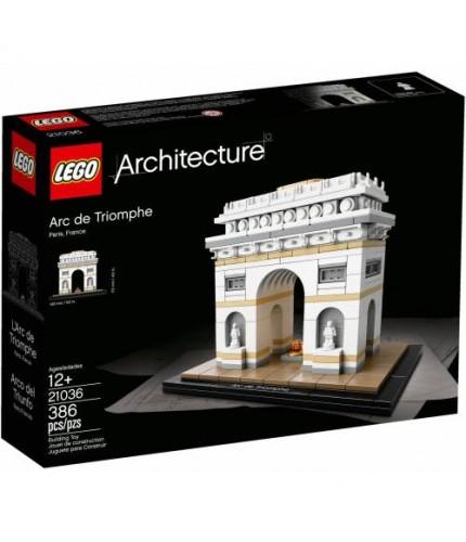 LEGO Architecture 21036 Arc de Triomphe Paris Zafer Kapısı