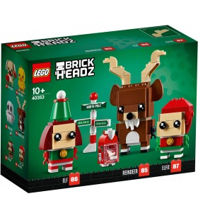 LEGO BRICK HEADZ 40353 Reindeer, Elf and Elfie