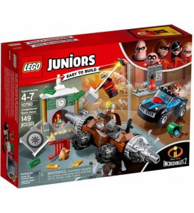 LEGO Juniors Incredibles 2 10760 Underminer's Bank Heist