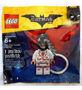 LEGO BATMAN MOVIE 5004928 Kiss Kiss Tuxedo Batman Keyring