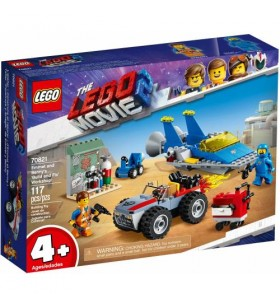 LEGO Movie 2 70821 Emmet and Bennys Build and Fix Workshop!