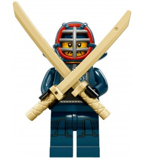 LEGO Seri 15 71011 No:12 Kendo Fighter