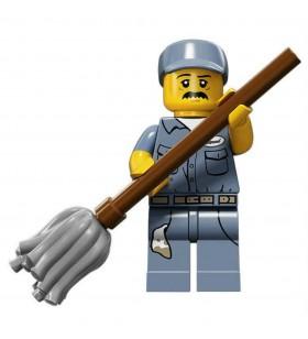 LEGO Seri 15 71011 No:9 Janitor