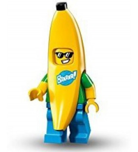 LEGO Seri 16 71013 No:15 Banana Suit Guy