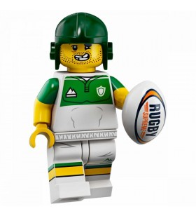LEGO Seri 19 71025 No:13 Rugby Player