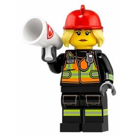 LEGO Seri 19 71025 No:8 Fire Fighter