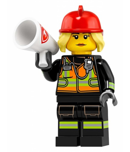 LEGO Seri 19 71025 No:8 Fire Fighter