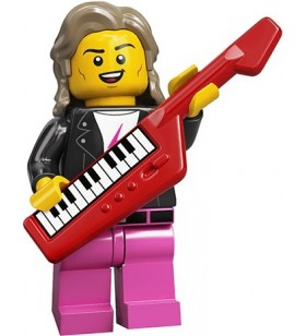 LEGO CMF Seri 20 71027 No:14 80s Musician