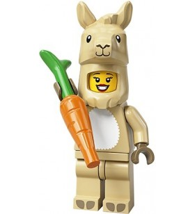LEGO CMF Seri 20 71027 No:7 Llama Costume Girl