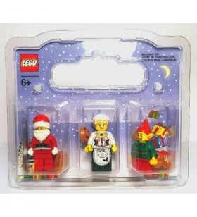 LEGO NOEL BABA NOEL ANNE VE ELF