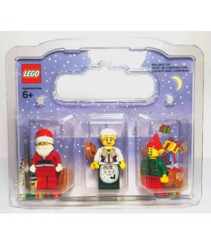 LEGO NOEL BABA NOEL ANNE VE ELF
