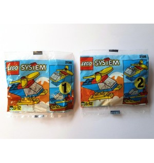 LEGO BASIC 2138 Helicopter Promotional Polybag 1997