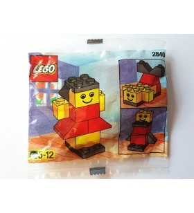 LEGO BASIC 2840 Girl Promotional Polybag 1997