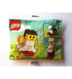 LEGO BASIC 2842 Girl White Promotional Polybag 1997