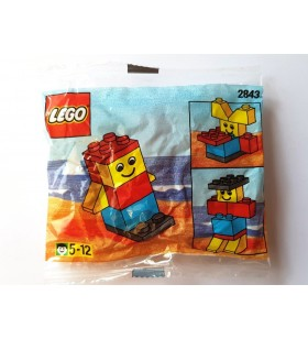 LEGO BASIC 2843 Boy Promotional Polybag 1997