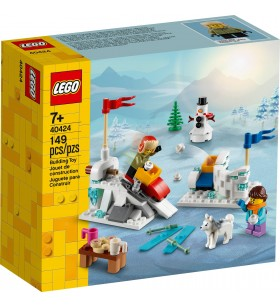 LEGO Exclusive 40424 Winter Snowball Fight