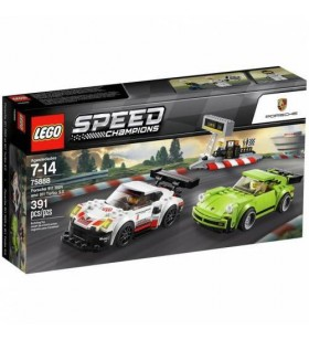 LEGO SPEED CHAMPIONS 75888 Porsche 911 RSR and 911 Turbo