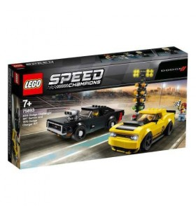 LEGO SPEED CHAMPIONS 75893 Dodge Challenger  & Charger