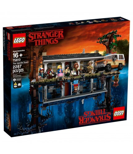 LEGO NETFLIX STRANGER THINGS 75810 The Upside Down