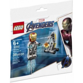 LEGO SUPER HEROES 30452 Iron Man and Dum-E iron man Polybag