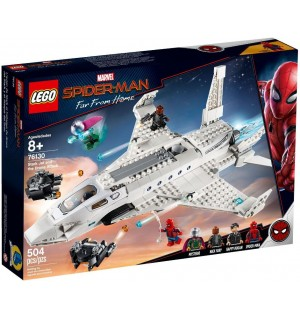 LEGO SUPER HEROES 76130 Stark Jet and the Drone Attack