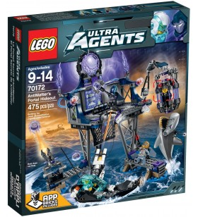 LEGO ULTRA AGENTS 70172 AntiMatters Portal Hideout