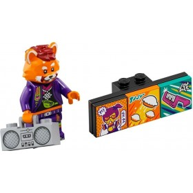 LEGO VIDIYO BANDMATES SERİ 1 43101-7 Red Panda Dancer