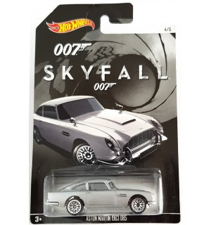 Hot Wheels 007 James Bond No 4 1963 Aston Martin DB5