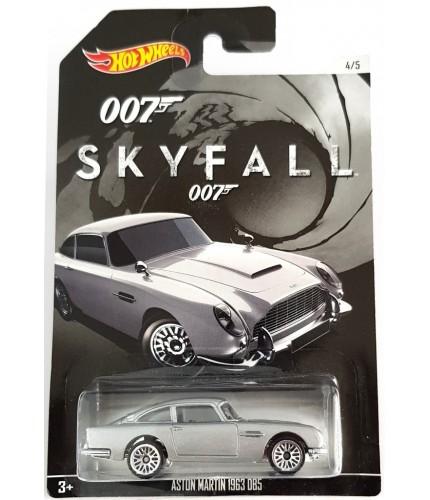 Hot Wheels 007 James Bond No 4 1963 Aston Martin DB5