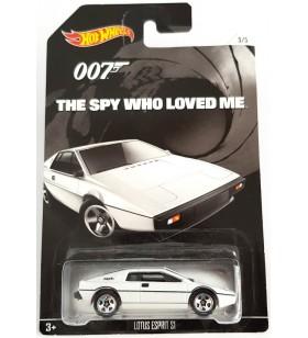 Hot Wheels 007 James Bond No 5 Lotus Esprit S1