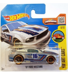 Hot Wheels 07 Ford Mustang HW Art Cars