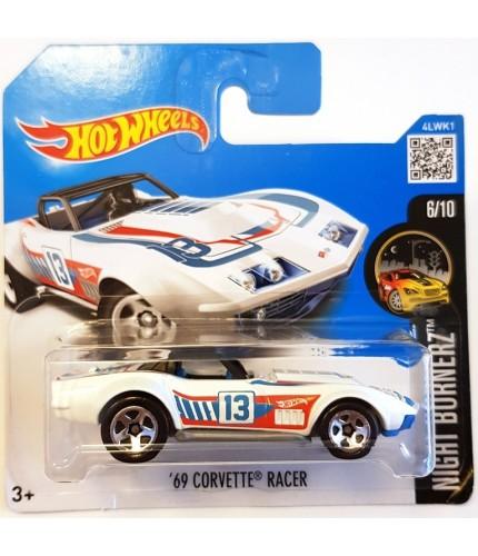Hot Wheels 09 Corvette Racer Nightburnerz 2017 Beyaz