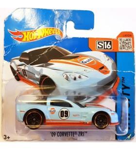 Hot Wheels 09 Corvette ZR1 HW City Acikmavi
