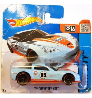Hot Wheels 09 Corvette ZR1 HW City Acikmavi
