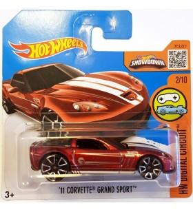 Hot Wheels 11 Corvette Grand Sport Th HW Digital Circuit Kirmizi
