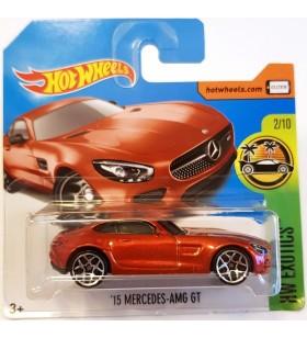Hot Wheels 15 Mercedes AMG GT HW Exotics Koyuturuncu