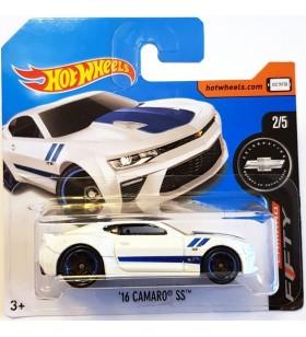 Hot Wheels 16 Camaro Ss Camaro Fifty 2017 Beyaz