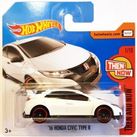 Hot Wheels 16 Honda Civic Type R Then And Now Beyaz