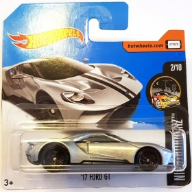 Hot Wheels 17 Ford GT Nightburnerz 2017 Gri