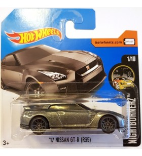 Hot Wheels 17 Nissan GT-R R35 Nightburnerz 2018 Koyugri