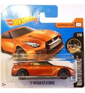 Hot Wheels 17 Nissan GT-R R35 Nightburnerz 2018 Turuncu