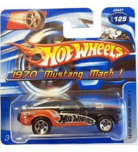 Hot Wheels 1970 Mustang Mach I Mainline 2006 Siyah