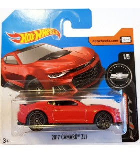 Hot Wheels 2017 Camaro ZL1 Camaro Fifty Kirmizi