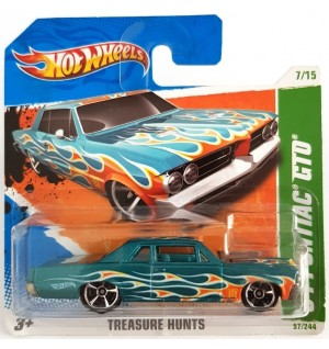 Hot Wheels 64 Pontiac GTO Treasure Hunts 2010