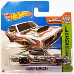 Hot Wheels 68 Hemi Barracuda HW Workshop