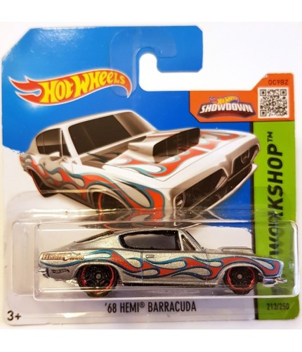 Hot Wheels 68 Hemi Barracuda HW Workshop